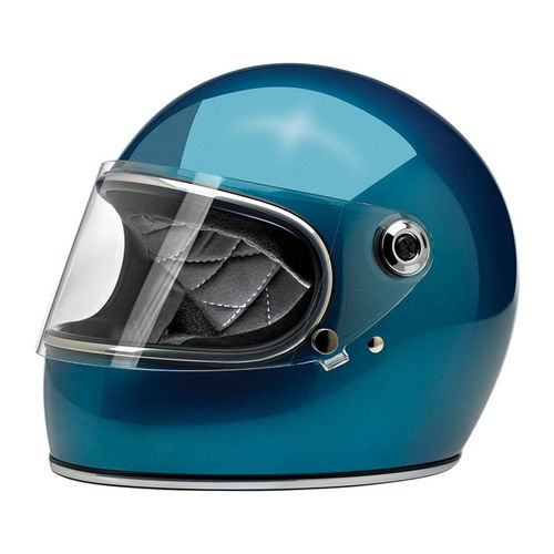 BILTWELL GRINGO S METALLIC SEA FOAM