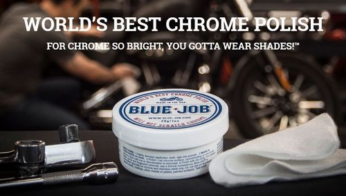 Blue Job Chrome Polish